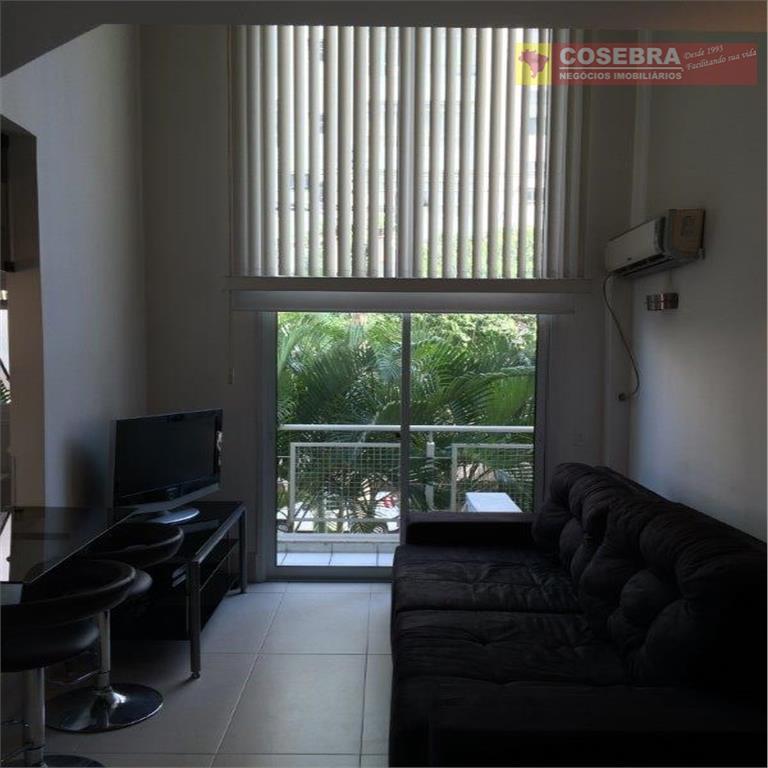 Apartamento estilo Loft, 01 suíte, 50 metros  - Vila Olímpia