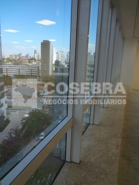 Conjunto  comercial para locação, Cidade Monções, São Paulo.