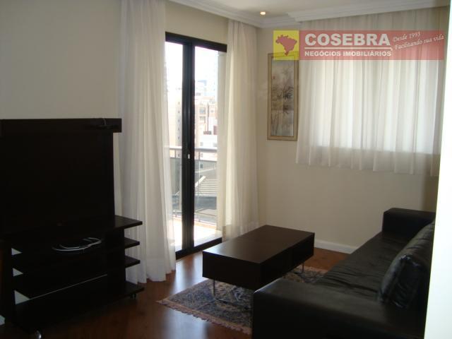 Apartamento mobiliado na Av. Dr. Cardoso de Melo - Vila Olímpia, São Paulo.
