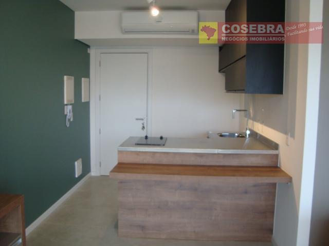 Novo, 1ª locação- 1 Dormitório, 1 Vaga -Prédio com lazer- Vila Olimpia