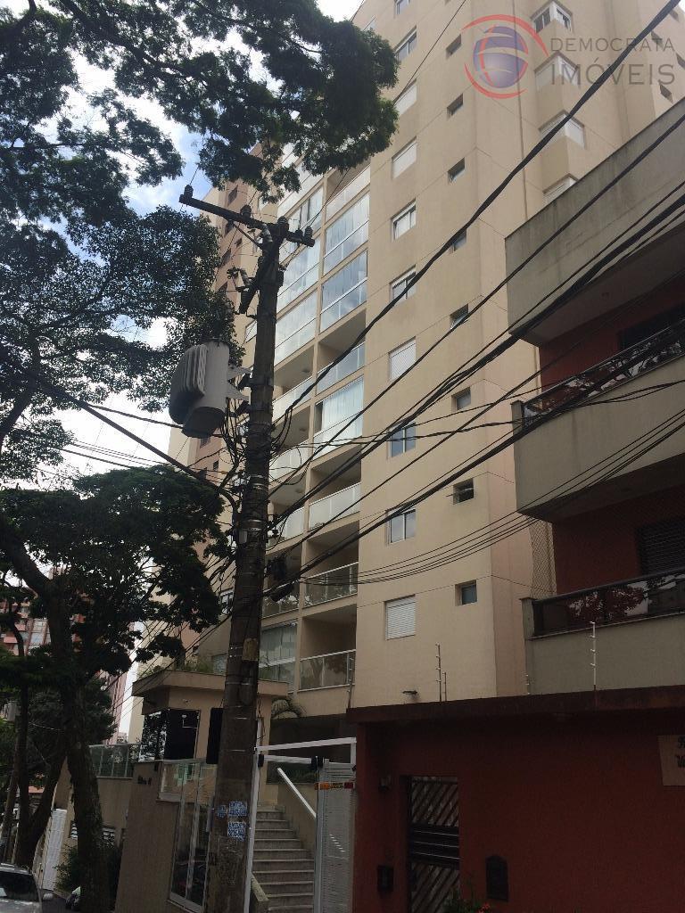 Apartamento  residencial à venda, Próximo ao centro, Rua Vitória, Vila Assunção, Santo André.