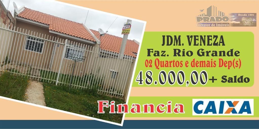 Casa  residencial à venda, Veneza, Fazenda Rio Grande.
