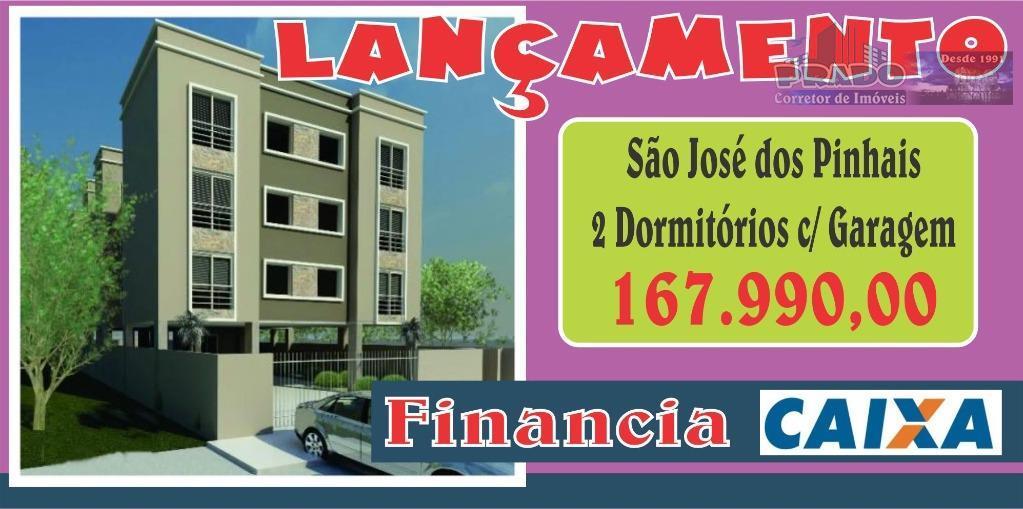 Apartamento à venda, São Domingos, São José dos Pinhais.