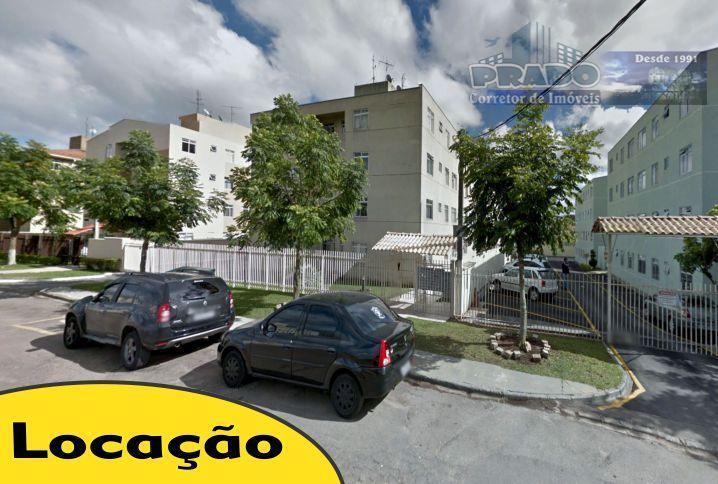 Apartamento para locação, Pinheirinho, Curitiba.