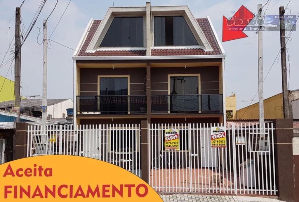 Sobrado  à venda, Sítio Cercado, Curitiba.