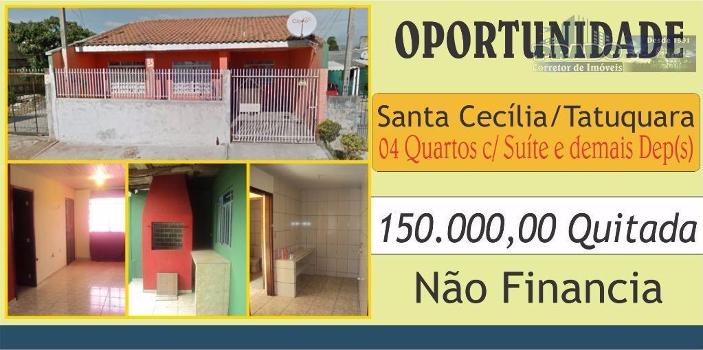 Casa  à venda, Tatuquara, Curitiba.
