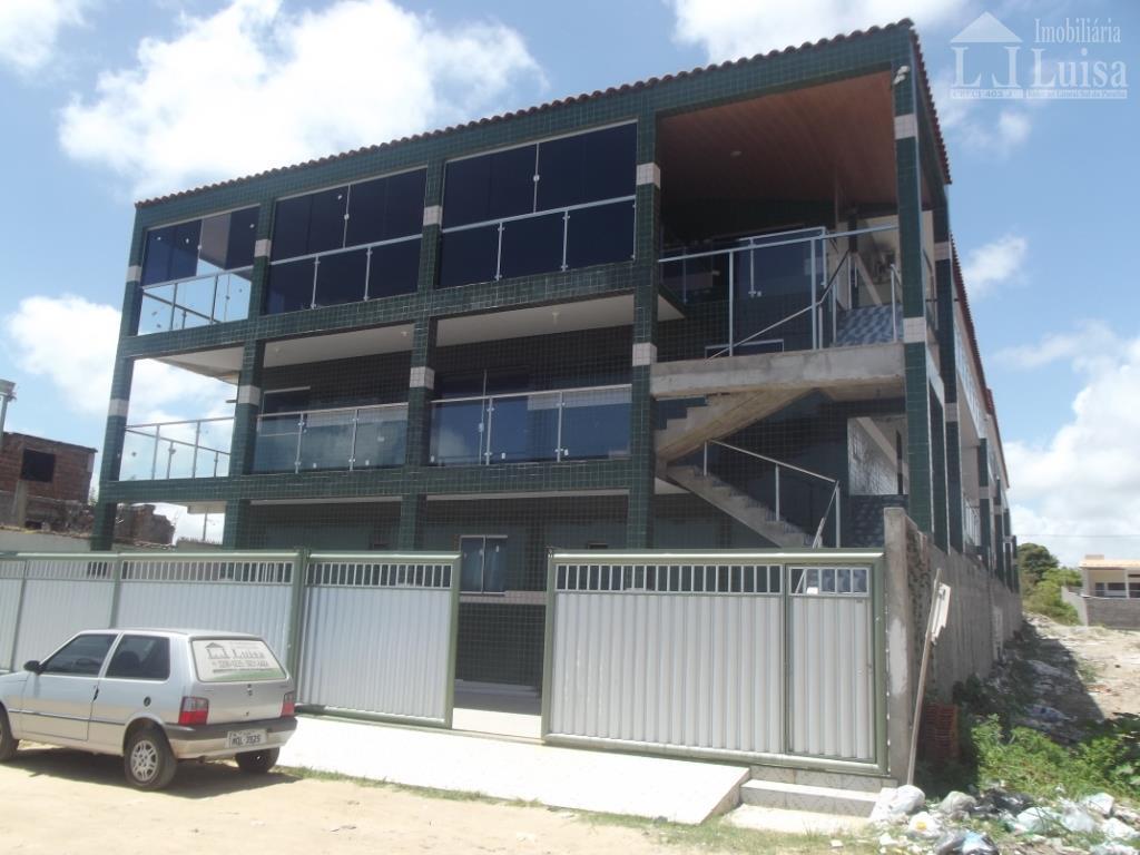 Apartamento residencial para locação, Carapibus, Conde.