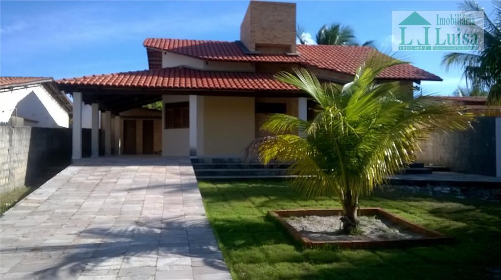 Casa residencial para venda e locação, Tabatinga Dois, Conde.