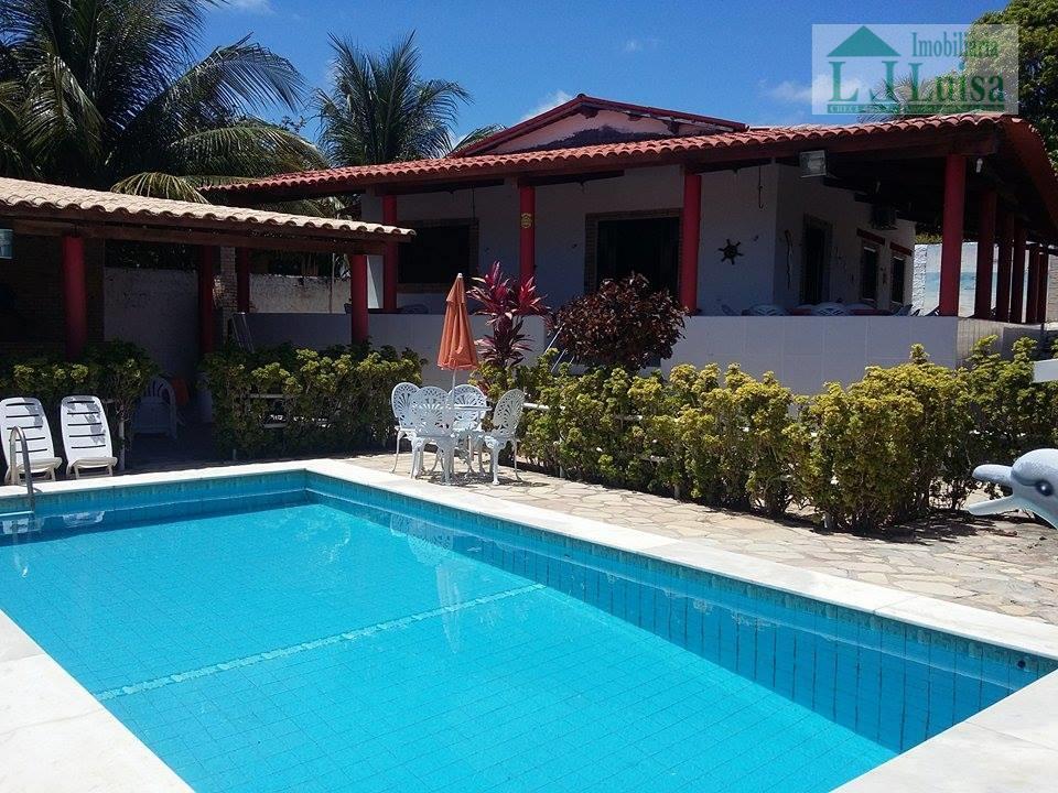 Casa temporada para venda e locação, Jacumã, Conde - CA0405.