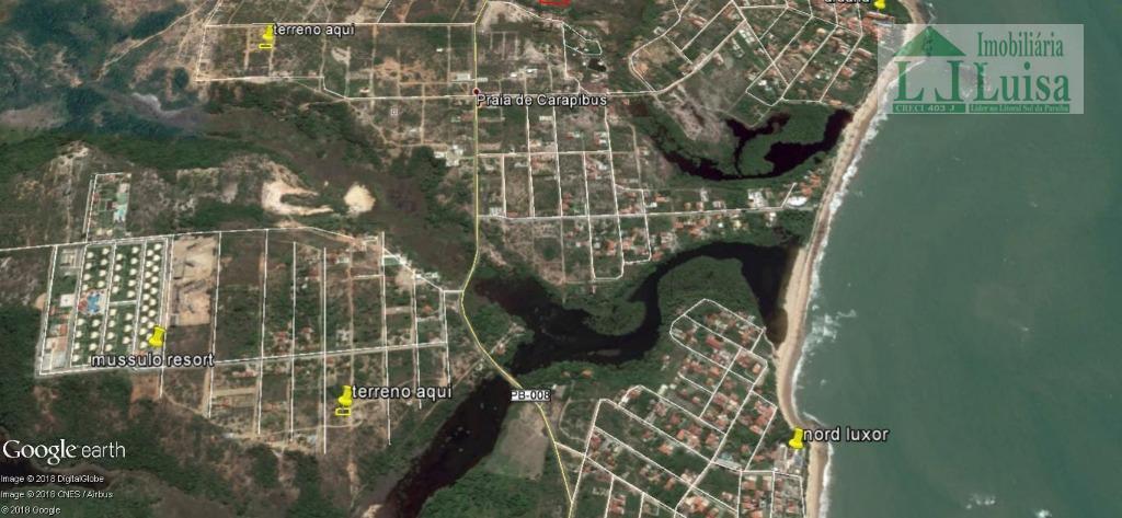 Terreno residencial à venda, Tabatinga Àrea Do Mussulo, Conde.
