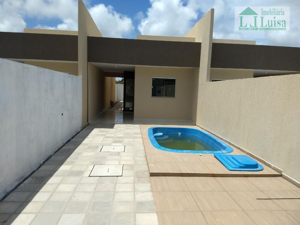Selecione residencial à venda, Praia do Amor, Conde.