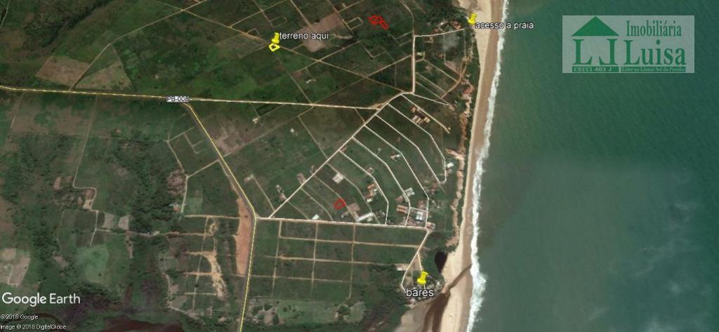 Terreno residencial à venda, Loteamento Colinas de Pitimbú em Praia Bela, Pitimbú.