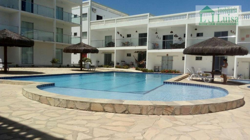 Apartamento residencial para locação, Barra de Gramame, Conde.