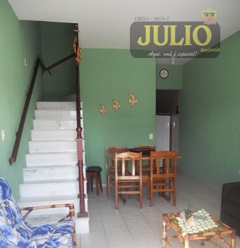 Casa 2 Dorm, Flórida Mirim, Mongaguá (SO0421) - Foto 3