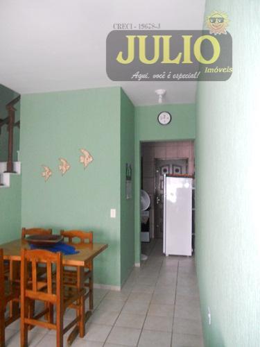 Casa 2 Dorm, Flórida Mirim, Mongaguá (SO0421) - Foto 5