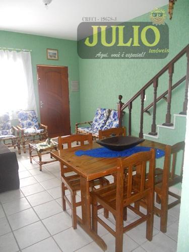 Casa 2 Dorm, Flórida Mirim, Mongaguá (SO0421) - Foto 2
