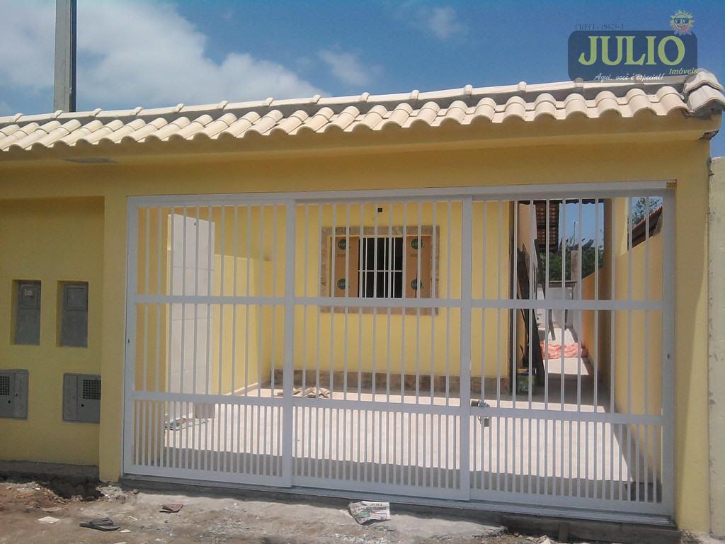 Julio Imóveis - Casa 2 Dorm, Itanhaém (CA2135)