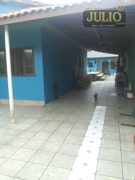 Casa 2 Dorm, Balneário Itaguaí, Mongaguá (CA2195)