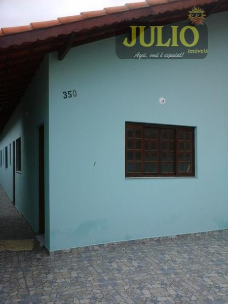 Casa 2 Dorm, Balneário Yuri, Itanhaém (CA2284)
