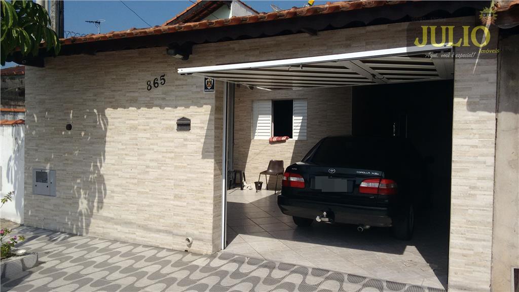 Casa 2 Dorm, Balneário Itaguaí, Mongaguá (CA2340)