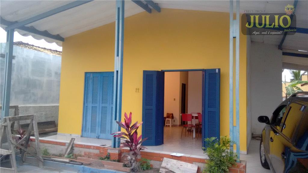 Casa 2 Dorm, Flórida Mirim, Mongaguá (CA2367)