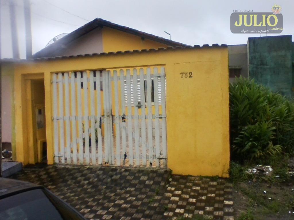 Casa 2 Dorm, Itaóca, Mongaguá (CA2391)