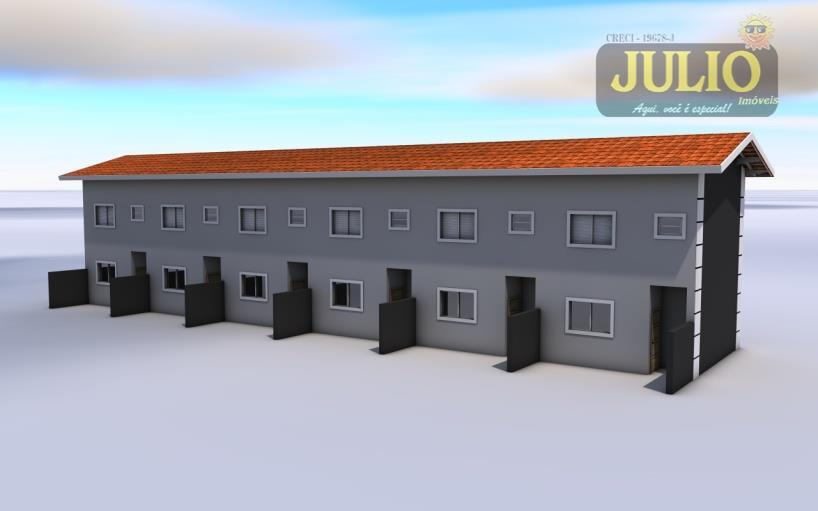 Casa 2 Dorm, Vera Cruz, Mongaguá (SO0556) - Foto 3