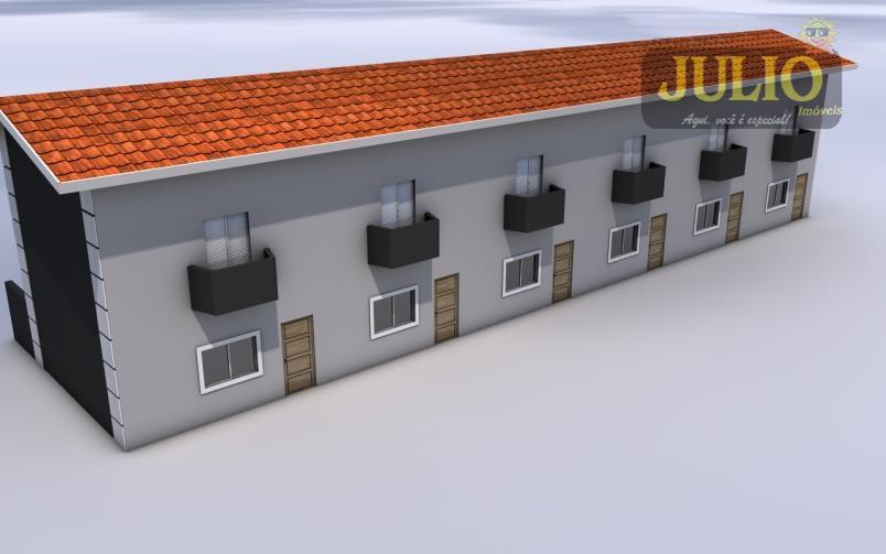 Casa 2 Dorm, Vera Cruz, Mongaguá (SO0556)