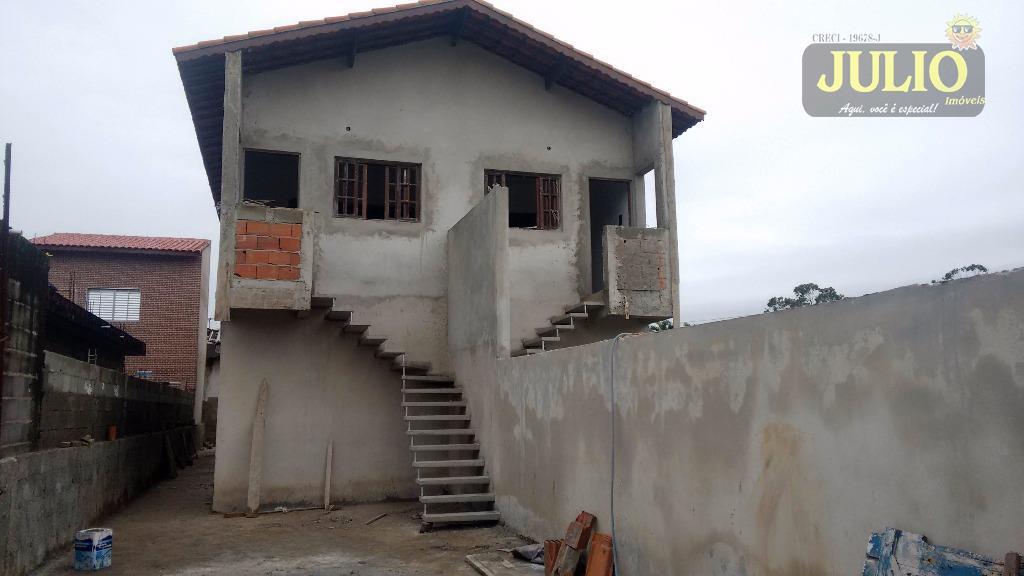 Casa 2 Dorm, Suarão, Itanhaém (CA2449)