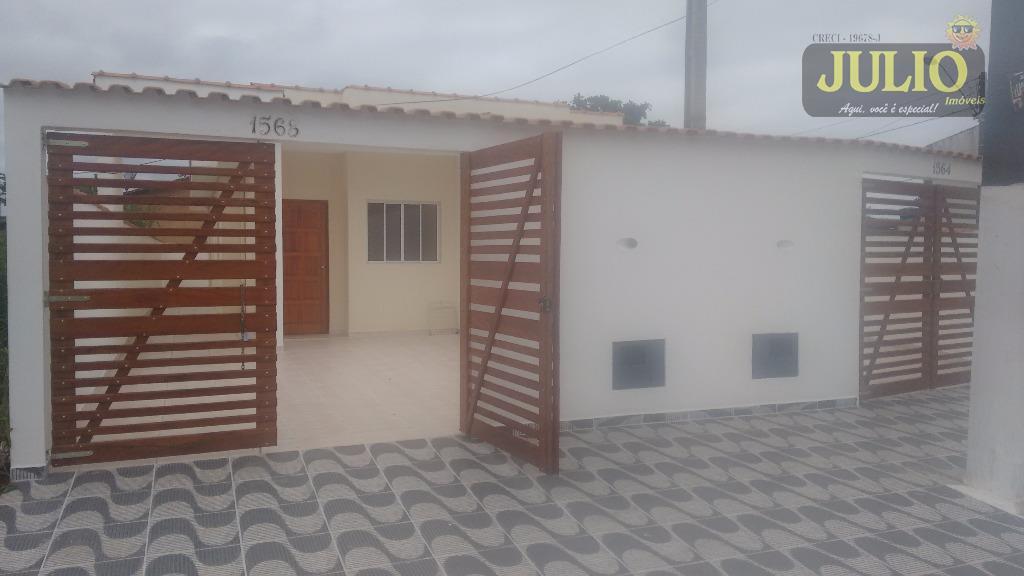 Casa 2 Dorm, Balneário Gaivota, Itanhaém (CA2466) - Foto 2