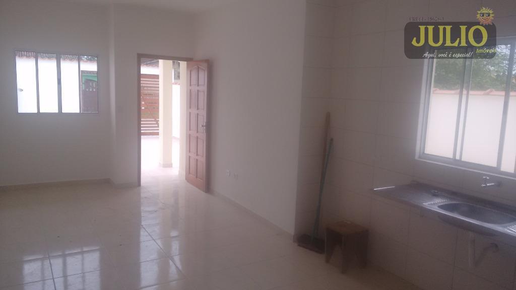 Casa 2 Dorm, Balneário Gaivota, Itanhaém (CA2466) - Foto 8