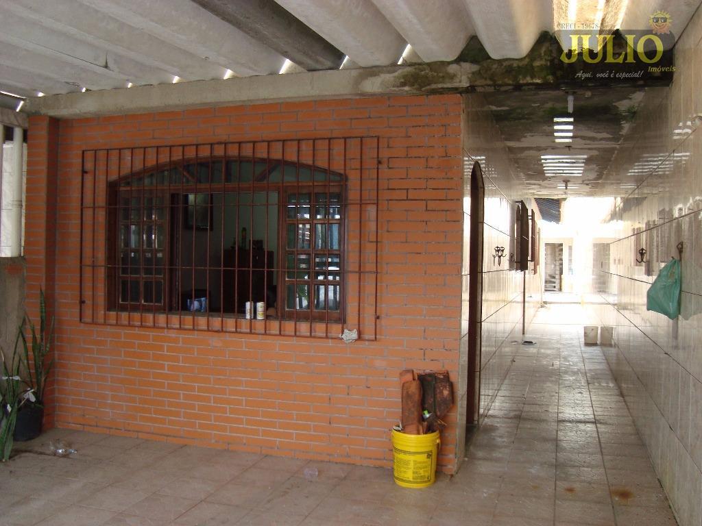 Casa 2 Dorm, Flórida Mirim, Mongaguá (CA2471)