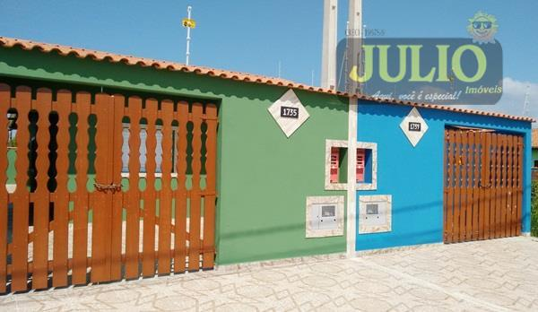 Casa 2 Dorm, Jardim Magalhães, Itanhaém (CA2509)