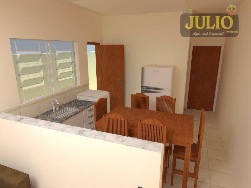 Casa 2 Dorm, Jussara, Mongaguá (CA2552)