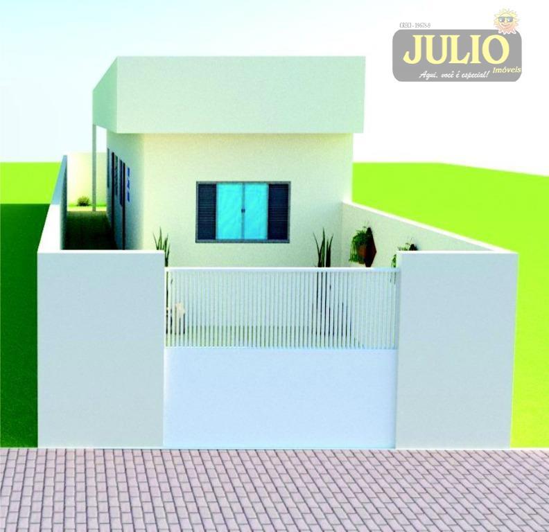 Casa 2 Dorm, Jussara, Mongaguá (CA2552) - Foto 2