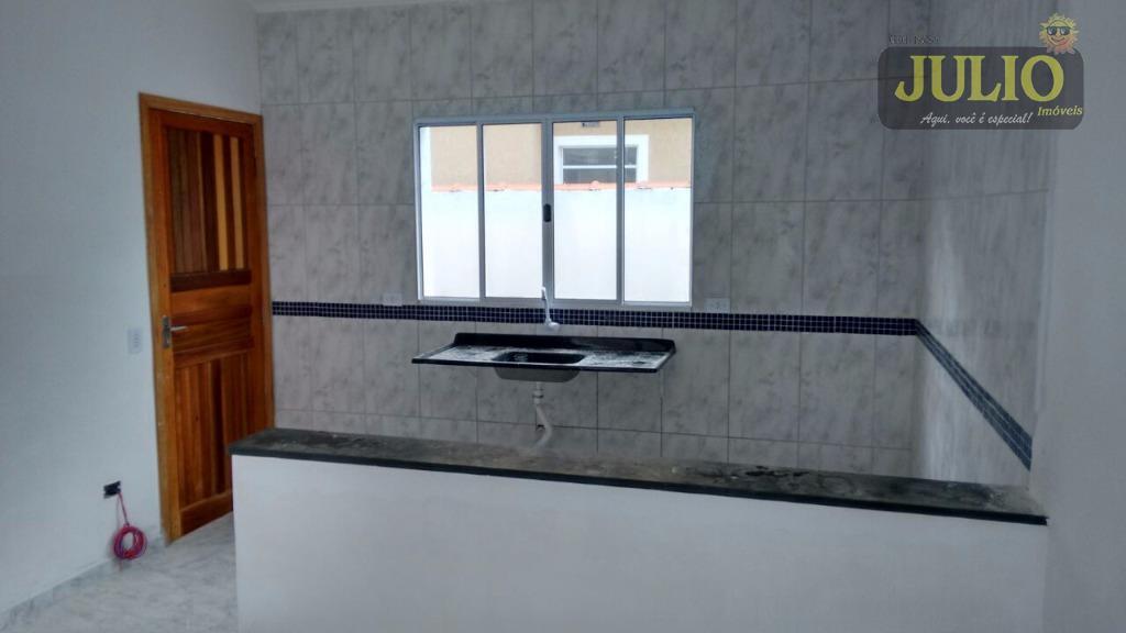 Casa 2 Dorm, Vera Cruz, Mongaguá (SO0556) - Foto 6