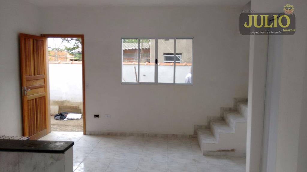Casa 2 Dorm, Vera Cruz, Mongaguá (SO0556) - Foto 7