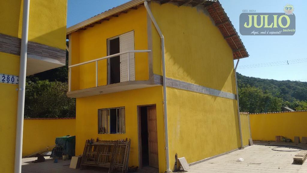 Sobrado  residencial à venda, Santa Eugênia, Mongaguá.