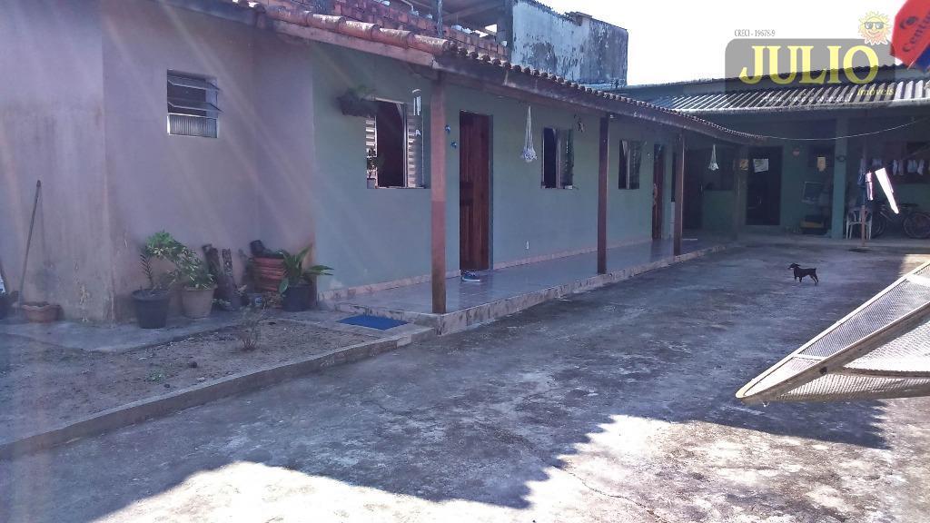 Casa 3 Dorm, Jardim Magalhães, Itanhaém (CA2570)
