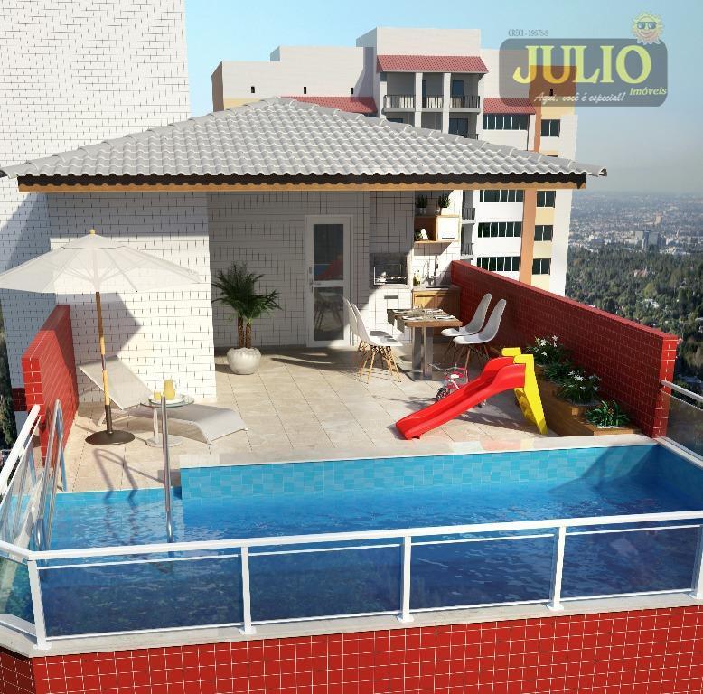 Apto 1 Dorm, Caiçara, Praia Grande (AP0611) - Foto 6