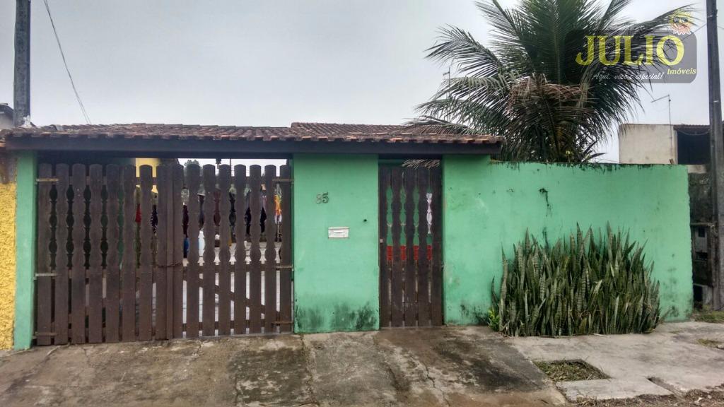 Casa 1 Dorm, Arara Vermelha, Mongaguá (CA2586)