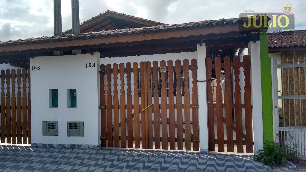 Julio Imóveis - Casa 2 Dorm, Itaóca, Mongaguá