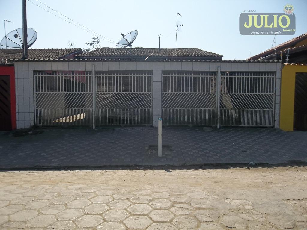 Casa 3 Dorm, Balneário Jussara, Mongaguá (CA2617)