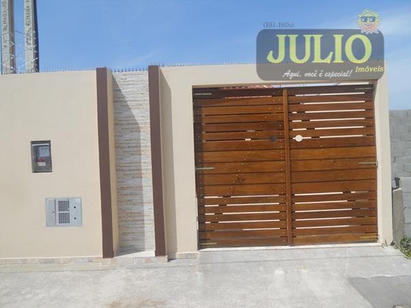 Julio Imóveis - Casa 2 Dorm, Nova Itanhaém - Foto 2