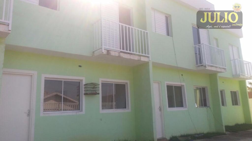Sobrado residencial à venda, Residencial Parque Augustus, Itanhaém.
