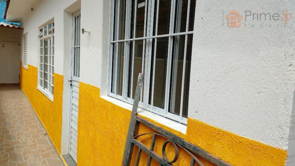 Casa de 3 cômodos para Locação na Vila Brasilândia