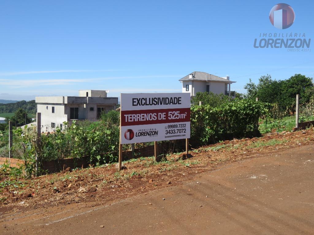 Últimos terrenos com 525m² na área nobre de Xanxerê
