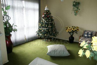 Apartamento Residencial à venda, 3 dorms, 1 suite, garagem demarcada, Gonzaga, Santos - AP3435.