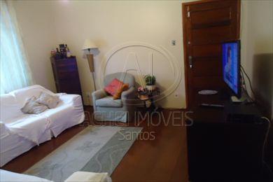 Apartamento residencial à venda, 3 dormitórios com vaga demarcada Boqueirão, Santos
