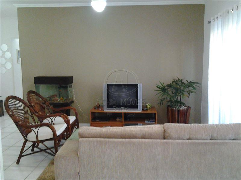 Apartamento residencial à venda, 3 dormitórios, suíte, sala 3 ambientes, garagem demarcada. Embaré, Santos